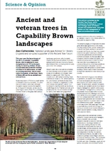 Capability brown Arb Journal Spring 2016