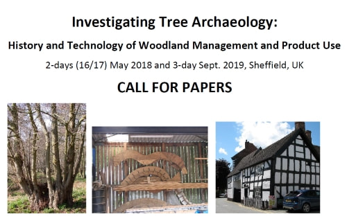 Investigating Tree archaeology Call for Papers